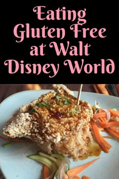 Our adventure eating Gluten Free at Walt Disney World. We enjoyed 7 different foods and found what we think is the best offering on property!