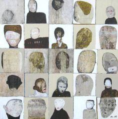 "Saatchi Art Artist Scott Bergey; Painting, ""Are We Not Happy?"" #art"