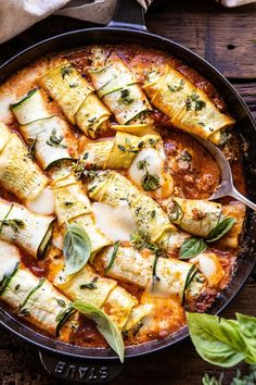 Spicy Pesto and Cheese Stuffed Zucchini Involtini. The post Spicy Pesto and Cheese Stuffed Zucchini Involtini. Vegetarian Recipes, Cooking Recipes, Healthy Recipes, Vegetarian Barbecue, Vegetarian Cooking, Halumi Cheese Recipes, Budget Cooking, Cooking Cake, Cooking Fish