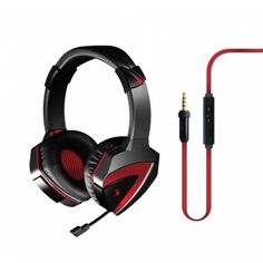 Lightweight Combat Gaming Headset Xbox One Headset PC Headset Nintendo Smart Phone Headset with Retractable Microphone, Noise Cancellation, Anti-Tangle Cord Memory Foam Lining, Ps4 Gaming Headset, Gaming Headphones, Pc For Sale, Wireless Home Security Systems, Headphone With Mic, Noise Cancelling, Computer Accessories, Things To Buy, Memory Foam