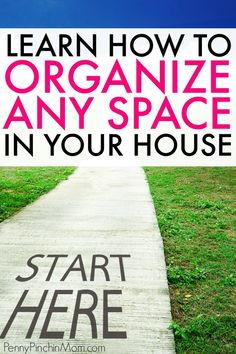 Organizing tips and ideas! Learn what you need to do so you can organize any space, room, closet or drawer in your house. Easy to follow steps for the beginner or the expert to tackle organizing and decluttering your home. declutter | how to organize | learn to organize | organizing tips | organizing ideas #organizing #organize #declutter #clean