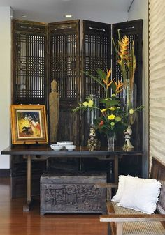 Asian Living Room Design, Pictures, Remodel, Decor and Ideas
