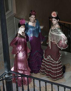 Rocio Peralta outfits These ladies are ready for La Feria de Sevilla.