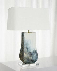 Shop Page Lamp from Arteriors at Horchow, where you'll find new lower shipping on hundreds of home furnishings and gifts. Porcelain Sink, Painted Porcelain, Brass Table Lamps, Elements Of Design, Home Accents, Home Furnishings, Bulb, House Design, Home Decor