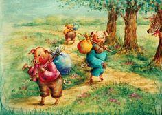 three little pigs   726 Three Little Pigs $18.00