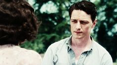 UGH..James Mcavoy as Robbie Turner in the Atonement. I never watched this cuz it's like rated R. o_o