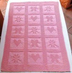 29 Ideas For Baby Blanket Manta Bebe Dos Agujas Free Baby Blanket Patterns, Crochet Blanket Patterns, Baby Blanket Crochet, Baby Patterns, Knit Patterns, Crochet Baby, Knitted Baby Blankets, Baby Girl Blankets, Dishcloth Knitting Patterns