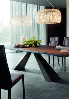 TABLES FIXES ELIOT WOOD | Cattelan Italia