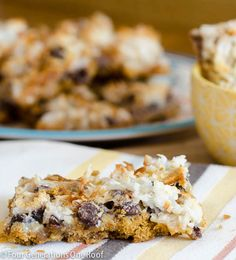 How to make magic cookie bars using marshmallows instead of nuts. Perfect sweet treat for any occasion. 10 minute prep and 25 minute cook time.