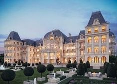 House Ideas Exterior Mansions Luxury 60 New Ideas Big Mansions, Luxury Mansions, Inside Mansions, Celebrity Mansions, Dream Mansion, Mansion Houses, Mansion Interior, Mansion Bedroom, Victorian Architecture