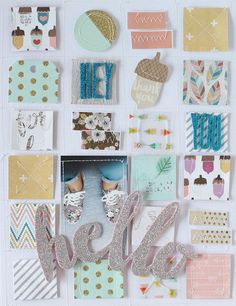 PHOTO + PAPER + STAMP = CRAFTTIME!!!: Pink Paislee guest artist (Layouts & mini album)