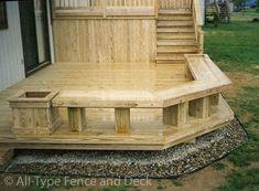 deck planter box ideas   Beautiful Decks, Your Design or Ours