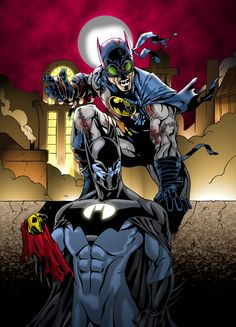 Batmen  by *sean-izaakse