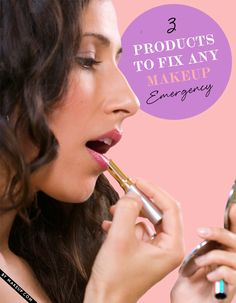 No matter how prepared you are, beauty blunders will happen. Just in case a makeup emergency strikes, get these three products to fix any beauty drama you come across.