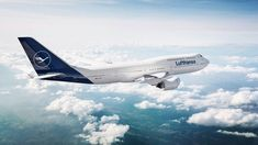 The carrier has officially unveiled the new dark blue design, with repainted B747-8 and A321 aircraft touring Germany and Europe