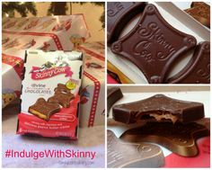Influenster #jollyvoxbox #indulgewithskinny  - I just loved these Skinny Cow candies and they are guilt-free!