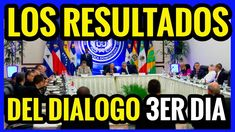 VENEZUELA NOTICIAS | RESULTADOS DIALOGO 3ER DIA | NOTICIAS AL DIA #VENEZ...