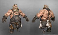 ArtStation - Blacksmith Dwarf, Park Hanee