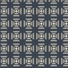 Navy Knit Jersey Fabric by April Rhodes for Art Gallery Fabrics Heirloom from Heritage Collection Geometric Knit Tan Knit Navy Knit Quilting Classes, Thing 1, Art Gallery Fabrics, How To Make Tshirts, Modern Fabric, Knitted Fabric, Storytelling, Fabric Design, Rhodes