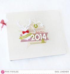 Countdown 2 Christmas Album Cover by Gail Lindner @pinkpaislee @greatestview #pinkpaislee #PPC2C