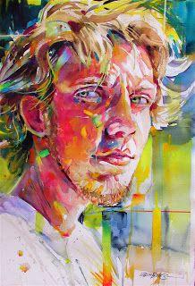 David Lobenberg Watercolor