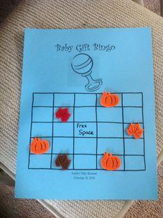 Baby bingo game