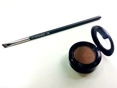 The Mac 208 brush and the Espresso eyeshadow.  The perfect combination for creating the perfect brow!