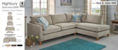 larger silver corner sofa next