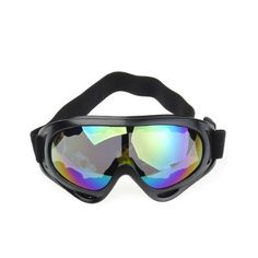 Colorful Winter Cold Sun Snowmobile Motorcycle Off-Road Ski Goggle Glasses Eyewear Lens