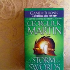Game of thrones series book 3. A Storm of Swords