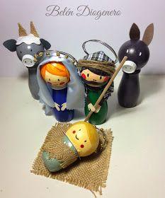 Anachicuca: Portal d Christmas Crafts, Christmas Decorations, Christmas Ornaments, Holiday Decor, Nativity Stable, Navidad Diy, Xmas Party, Portal, Crafts For Kids