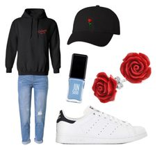 """Suburbia Tour"" by itzvictoriadinh ❤ liked on Polyvore featuring WithChic, adidas, Bling Jewelry and JINsoon"