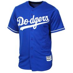 L.A. Dodgers Majestic Official Cool Base Jersey - Royal