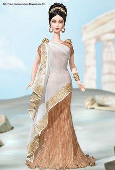 Barbie E Seus Vestidos: 2003 - Princess of Ancient Greece™ Barbie® Doll