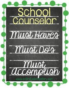 Entirely Elementary...School Counseling: Beginning School Counselor - What You Need to Know