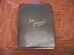 How to Keep a Spiritual Journal -- a short wiki explanation