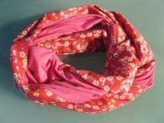 Snood de printemps - PIQUE & pique & colle & gramme