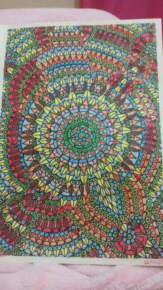 """Quinta ilustração de """"O livro anti-insônica"""" The Can't Sleep Colouring Book (Creative Colouring for Grown-Ups)"""
