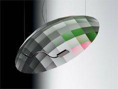 Lámpara colgante de aluminio LUNATIC by Ingo Maurer | diseño Tobias Reischle, Ingo Maurer & Team