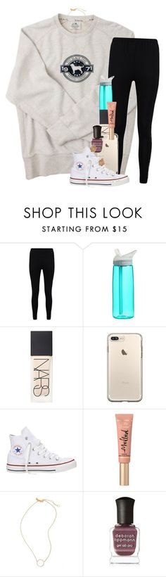 """Went through my old emails from the second grade and they are hilarious! "" by erinlmarkel ❤ liked on Polyvore featuring Boohoo, CamelBak, NARS Cosmetics, Converse, Too Faced Cosmetics, Madewell, Deborah Lippmann and Kendra Scott"