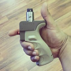 Made from an actual AR grip.