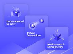 Cryptocurrency platform icons designed by Viktoria Martyniuk. Login Page Design, Dashboard Design, App Ui Design, Icon Design, Branding Design, Logo Design, Isometric Art, Isometric Design, Co Working