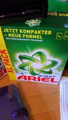 Mihaela Testfamily: Das Ariel Actilift Waschpulver im Härtetest! #ariel ##arielcolor #arielactilift #familienmanagerin #waschmittel #waschen