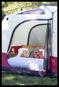 Camping Tent Ideas - Camping Family Essentials #CampingAccessories