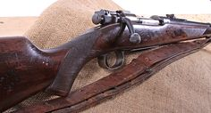 Kermit Roosevelt's 1903 Springfield Rifle – The GOTD belonged to Kermit Roosevelt, Theodore Roosevelt's son. This 30-03 Springfield was one of many rifles Kermit took to Africa in 1909 for a post-presidential whirlwind safari with his father. It still has the original leather sling he used on so many hunting trips with his father.
