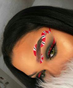Pinterest: Kat G Makeup Goals, Love Makeup, Makeup Inspo, Makeup Art, Makeup Inspiration, Hair Makeup, Fun Makeup, Makeup Ideas, Crazy Eyeshadow