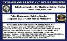 """for getting last mobile location update in Uttarakhand. No is 1503 or 09412024365,"""""""