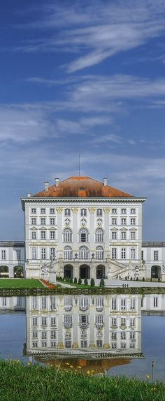 El palacio de Nymphenburg, Munich, Baviera, Alemania …