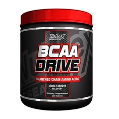 Nutrex Research BCAA Drive Black 200 Caps