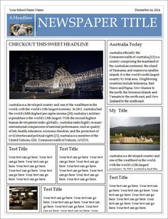 Receipt template click on the download button to get for Create your own newspaper template